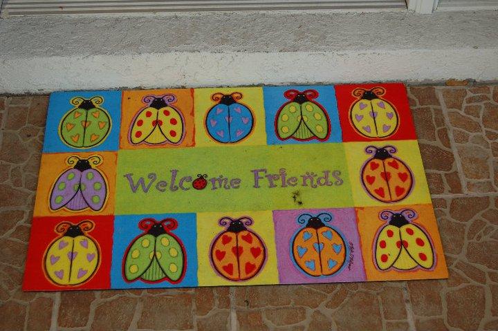 Outdoor Ladybug Garden Party | missfrugalfancypants.com