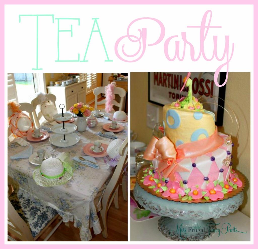 Tea Party | missfrugalfancypants.com