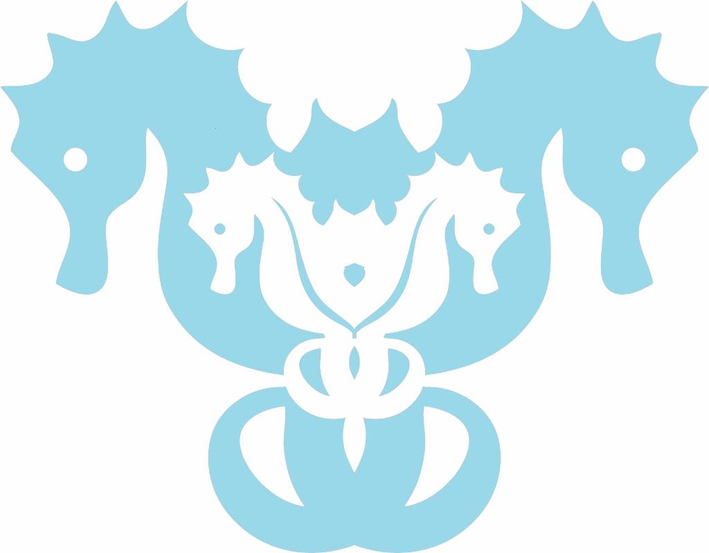 Seahorse Logo | missfrugalfancypants.com