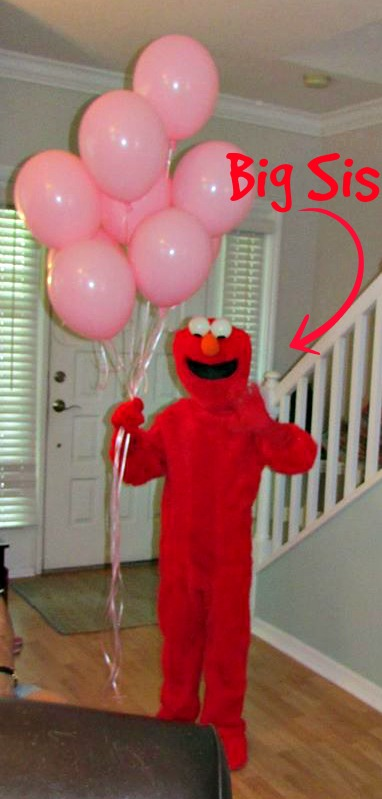 Elmo Costume | missfrugalfancypants.com