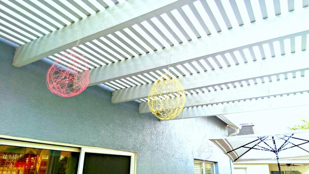 Easter Egg Lanterns | missfrugalfancypants.com