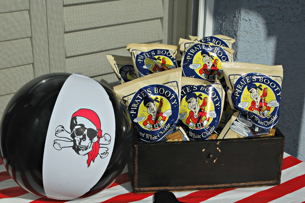 Pirate Party Booty | missfrugalfancypants.com