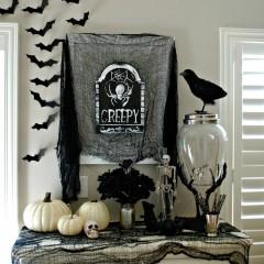 Black & Silver Halloween