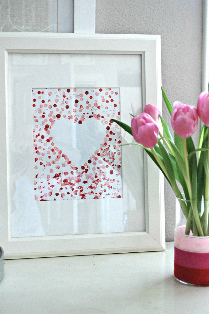 Easy Valentine's Day Art for Toddlers