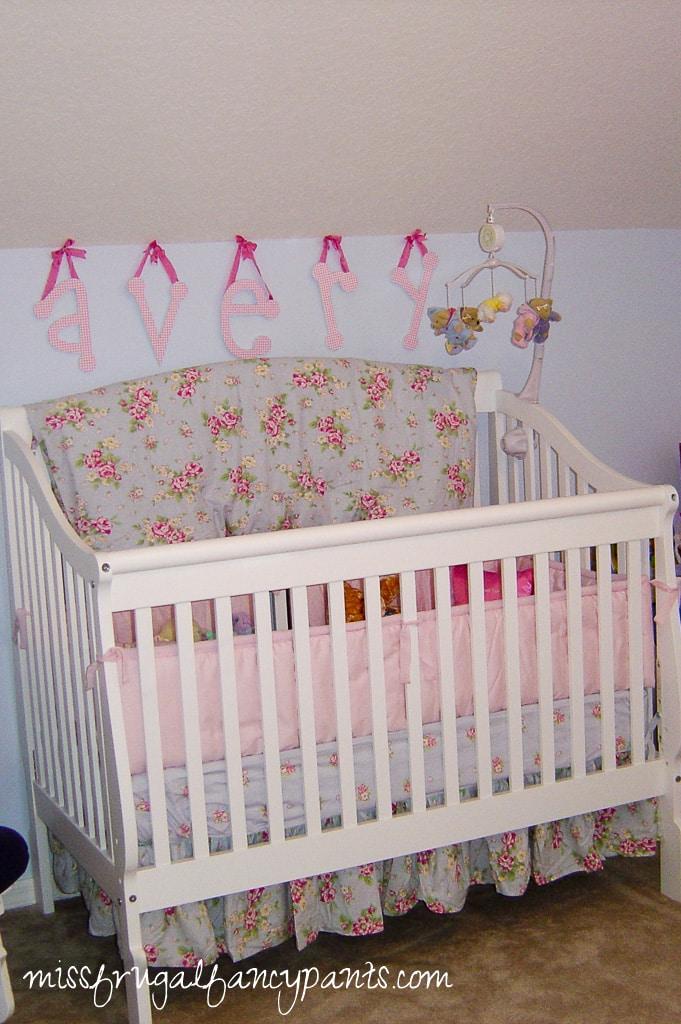Original Shabby Chic Nursery Pics | missfrugalfancypants.com