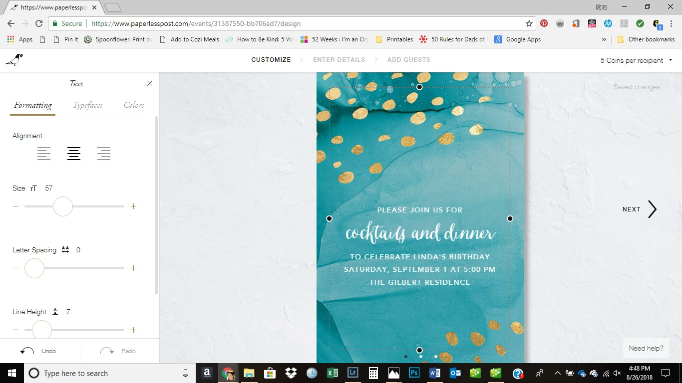 Paperless Post Review | Customized Online Invitations | missfrugalfancypants.com