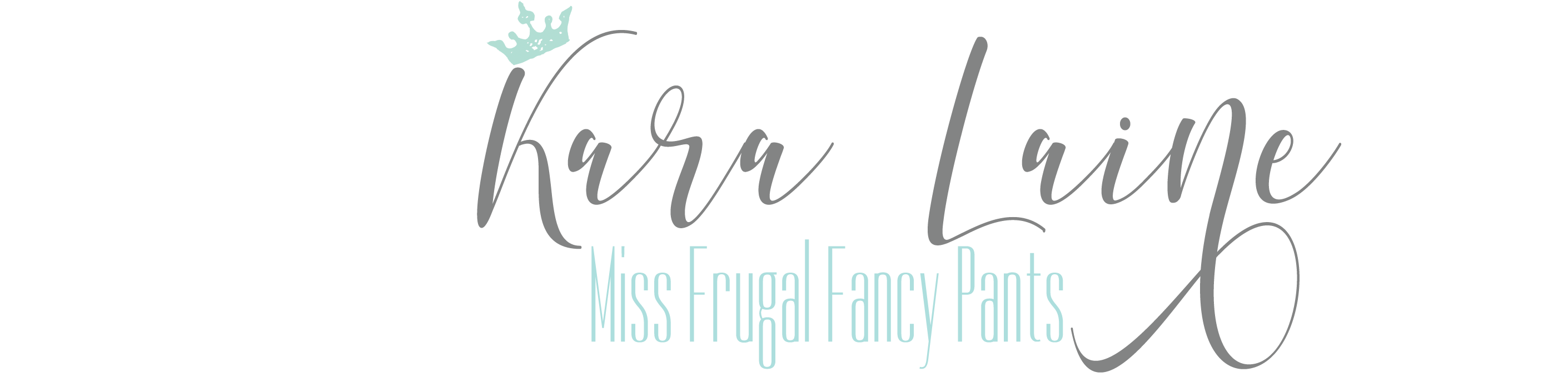 Miss Frugal Fancy Pants