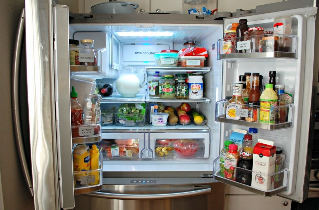 An Organized Fridge = Less Waste