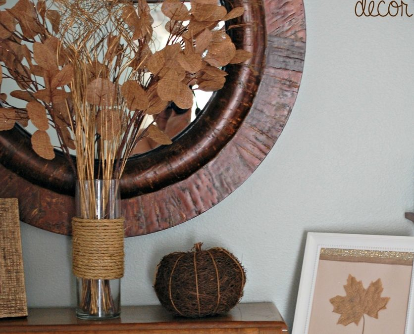 A Few More Simple Thanksgiving Decor Ideas