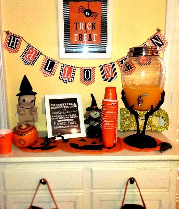 A Frightfully Frugal Halloween