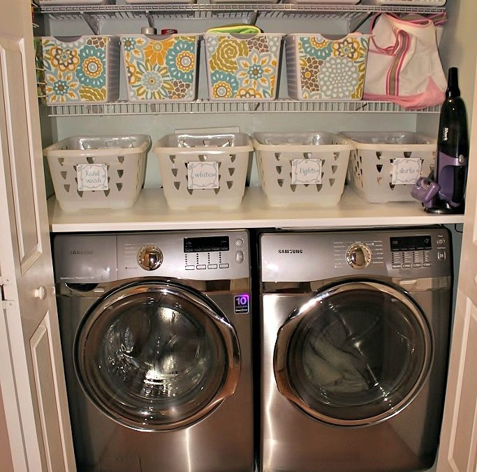 Who DOESN'T Need a Laundry Room Makeover?